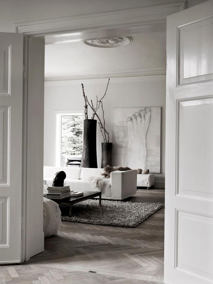 Een modern klassiek interieur | Living rooms, Interiors and Modern ...