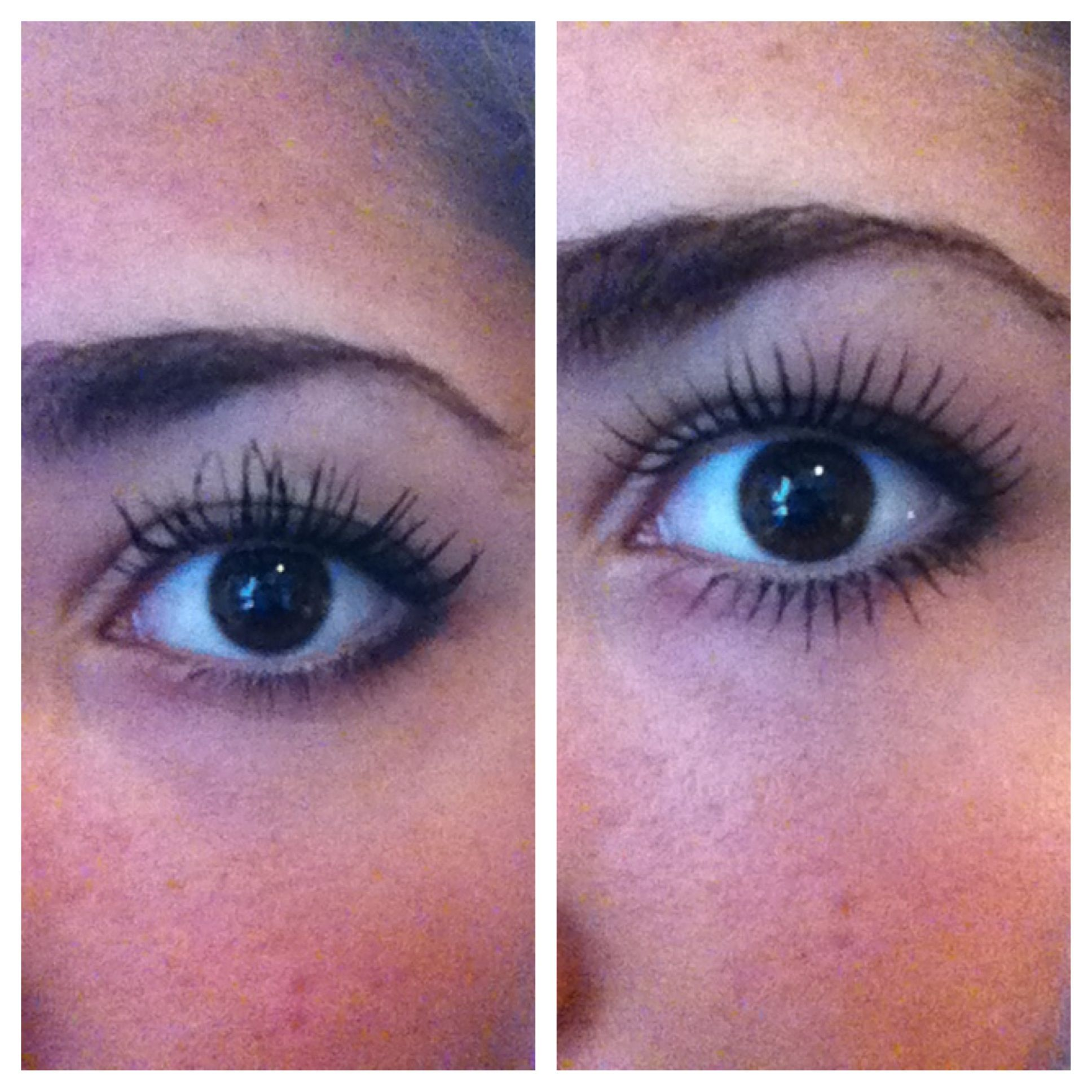Use Tweezers To Separate Your Eyelashes After Applying