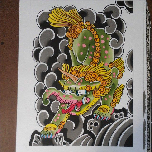 Baku Japanesetattoo Irezumi Tebori Professorhall Professorchrishall Cottage13 Hamilton Hamont Ham Japanese Tattoo Japanese Mythical Creatures Irezumi