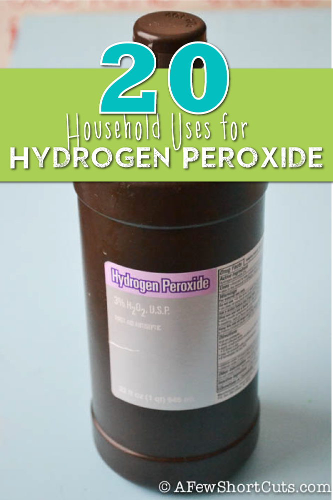 Home Tips 8 Hydrogen Peroxide Hacks You've Probably Never