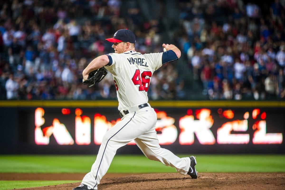 Craig Kimbrel Braves With Images Atlanta Braves Baseball Atlanta Braves Braves Baseball