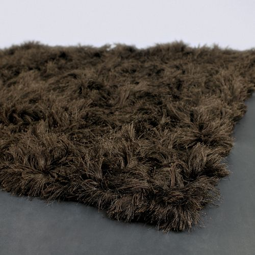 Celecot Rug In Chocolate Brown From Poshtotsnursery