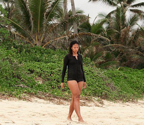 6120f7f707f Womens Plus Size Long Sleeve Rash Guard Shirt in 2019