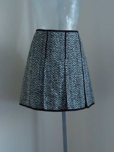 Available @ TrendTrunk.com Lida Baday Wool Blend Black and White Pleated Skirt NWT . By Lida baday. Only $23!