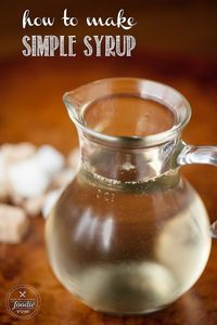 If you enjoy making your own delicious cocktails at home, then you must know How to Make Simple Syrup.