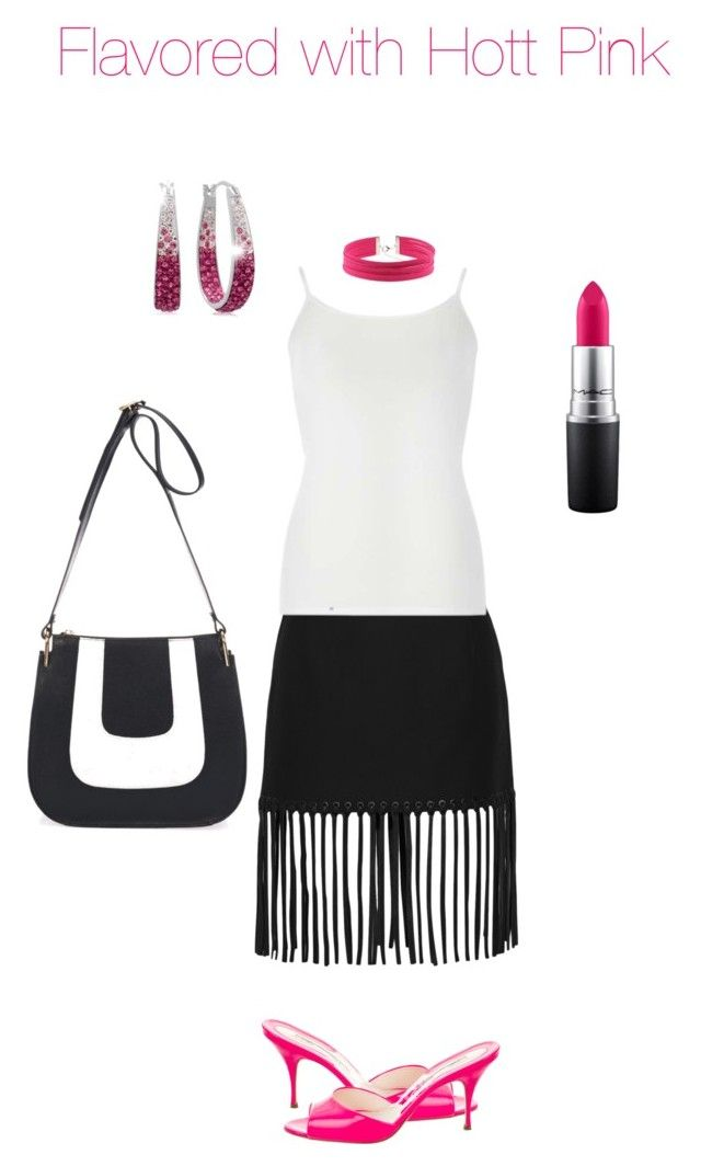 """""""Untitled #1882"""" by yvettestarr on Polyvore featuring Giulia Massari, Alexander Wang, Dorothy Perkins, Brian Atwood and MAC Cosmetics"""