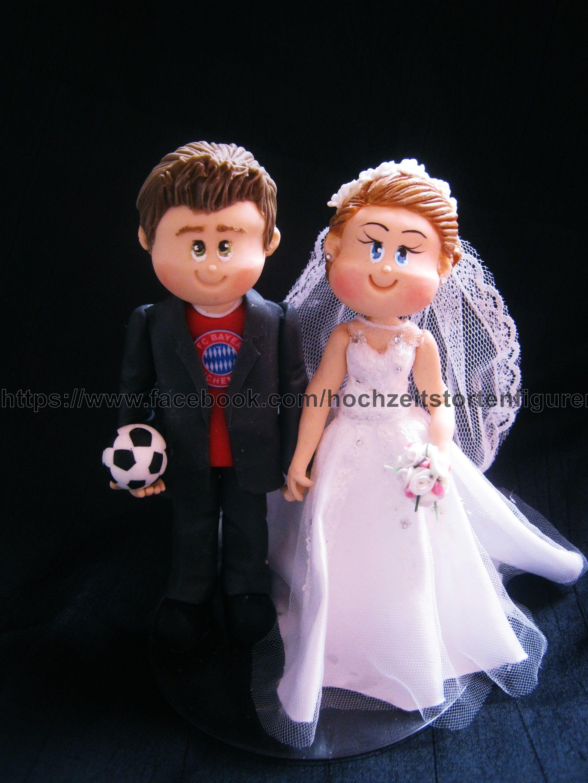 Individuelle Brautpaar Figuren Fc Bayern Munchen Fussballfan
