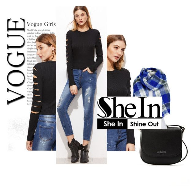 """""""she in"""" by sahrish-hossain ❤ liked on Polyvore featuring Lancaster and ZooZatZ"""