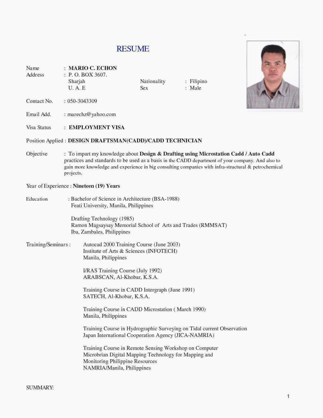 Review this sample resume for a laboratory technician to