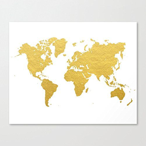 Ushopping gold world map canvas prints artwork 12 x https ushopping gold world map canvas prints artwork 12 x https gumiabroncs Image collections