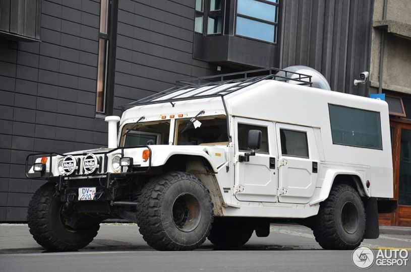 Beast On Wheels H1 Converted Into Overland Camper Hummer Truck Expedition Truck Hummer H1