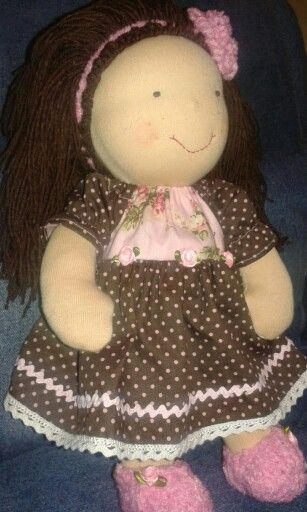Waldorf doll Blanka by Lupettina (inspired by Aledi's works)