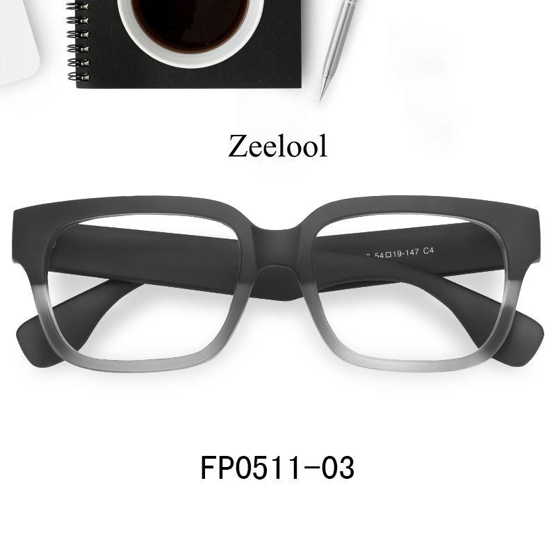 16556fb902 Colin Rectangle Black Crystal Glasses FP0511-03 in 2019