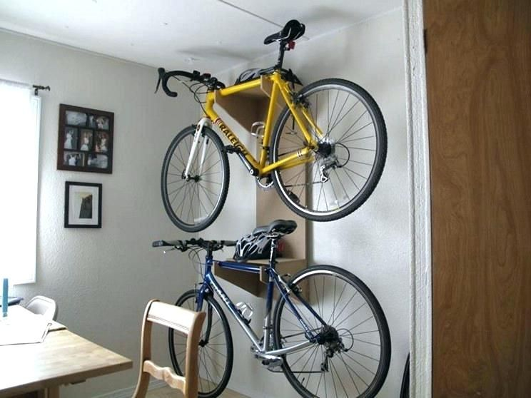 Diy Bicycle Wall Rack Bike Rack Solutions You Can Build Right Now Bike Rack Wall Bike Wall Mount Diy Bike Storage Under Stairs Diy Bike Rack Bike Wall Storage