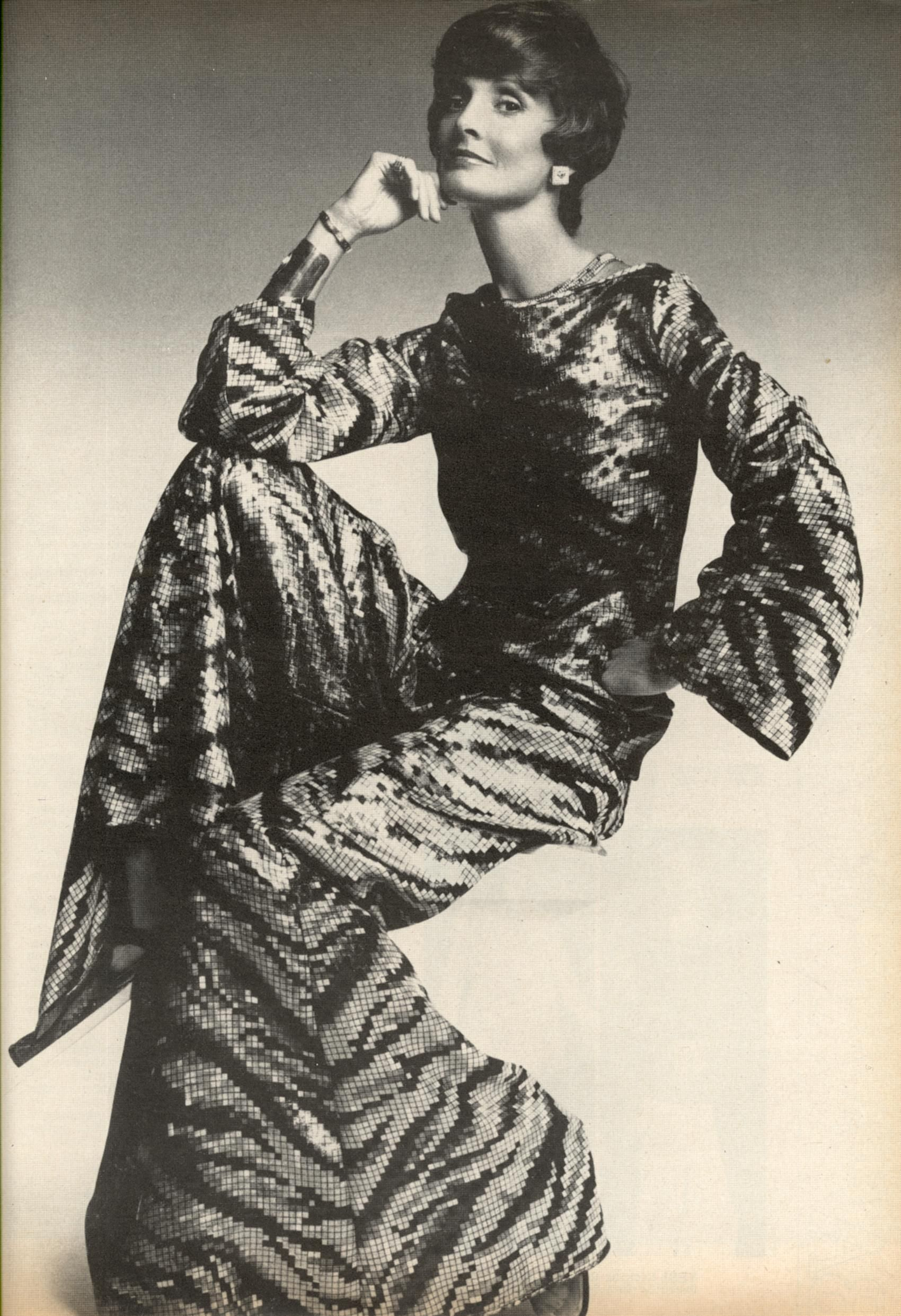 US Harper's Bazaar November 1974 Looking Sensational From Forty