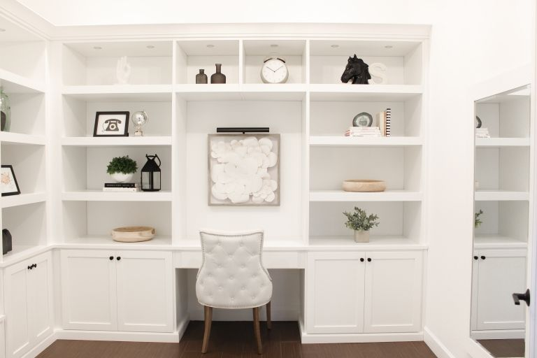 My New Home Office 2019 Goals Home Office Shelves