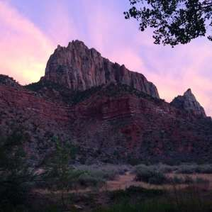 Watchman Campground, Zion National Park