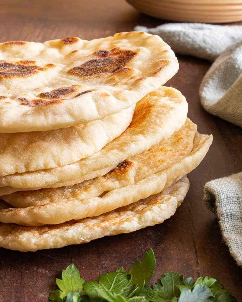 Quick and Easy Naan Bread Without Yeast | Recipe | Recipes ...