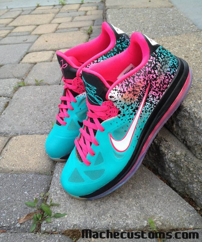 """best service a8155 8be5e Nike LeBron 9 Low """"Bringing Sand to the Beach"""" – Customs"""