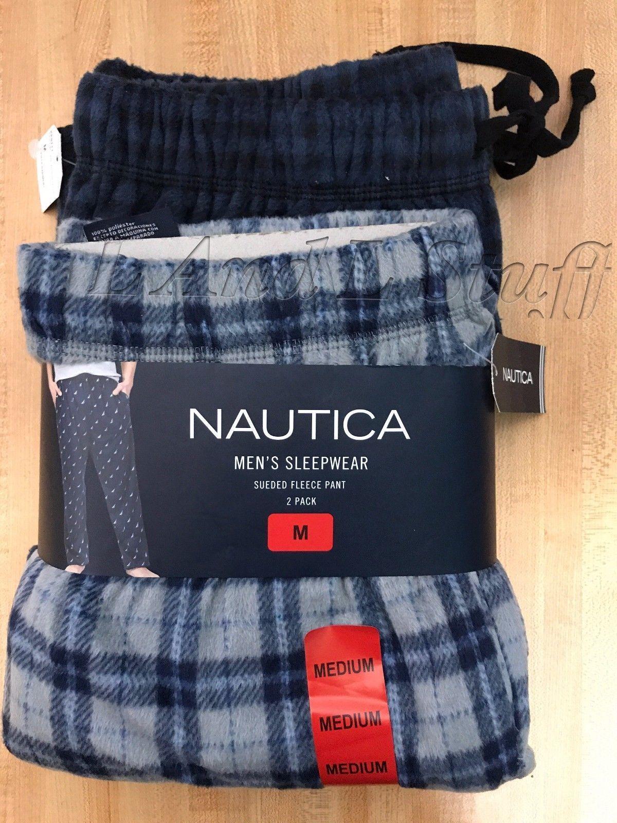Nautica Men/'s 2-pack Fleece Pants