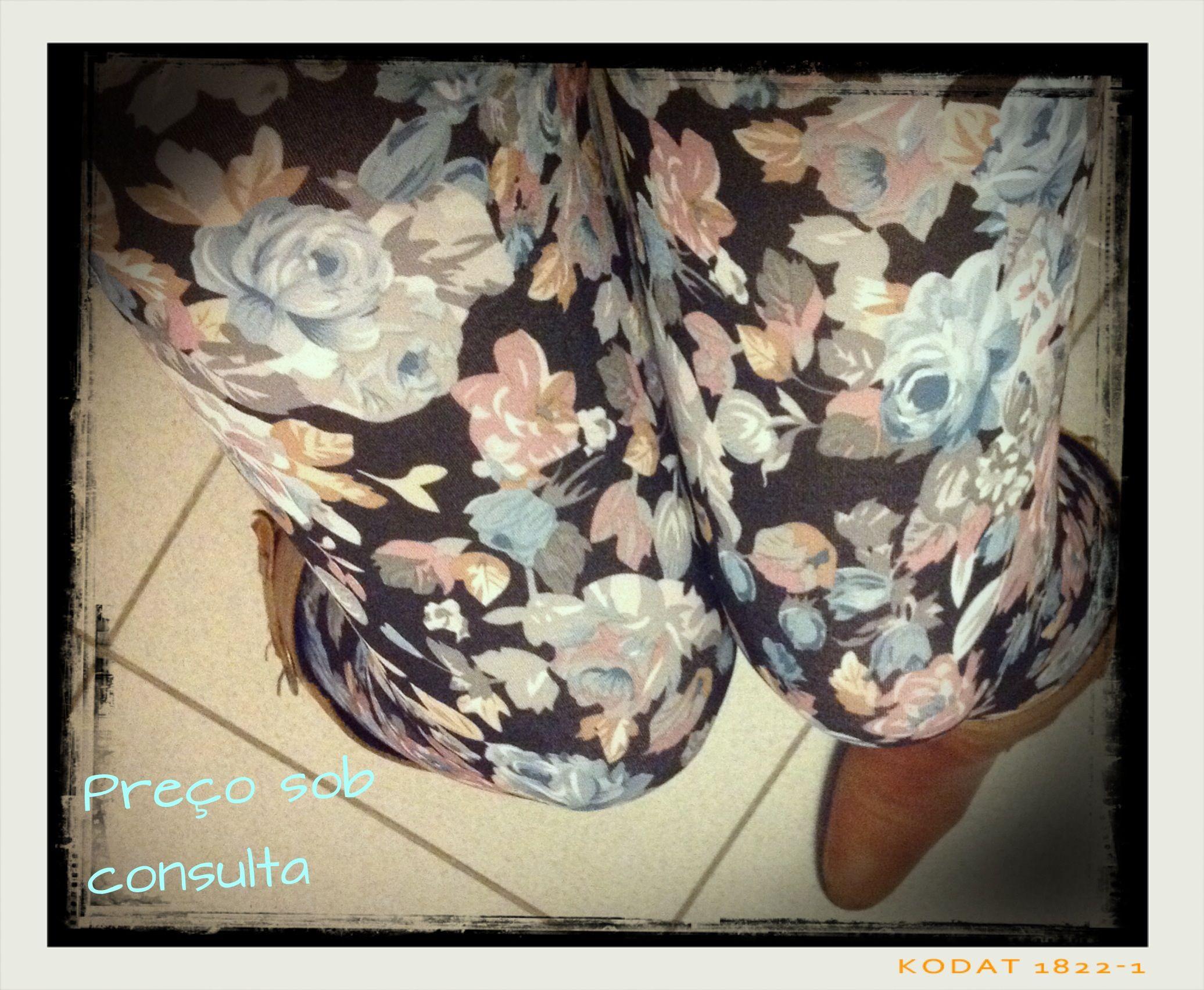 Flower leggins on Maggie's
