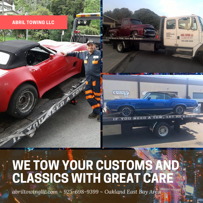 We Take Great Care With Your Precious Cargo We Serve The Oakland Enchanting Towing Quote