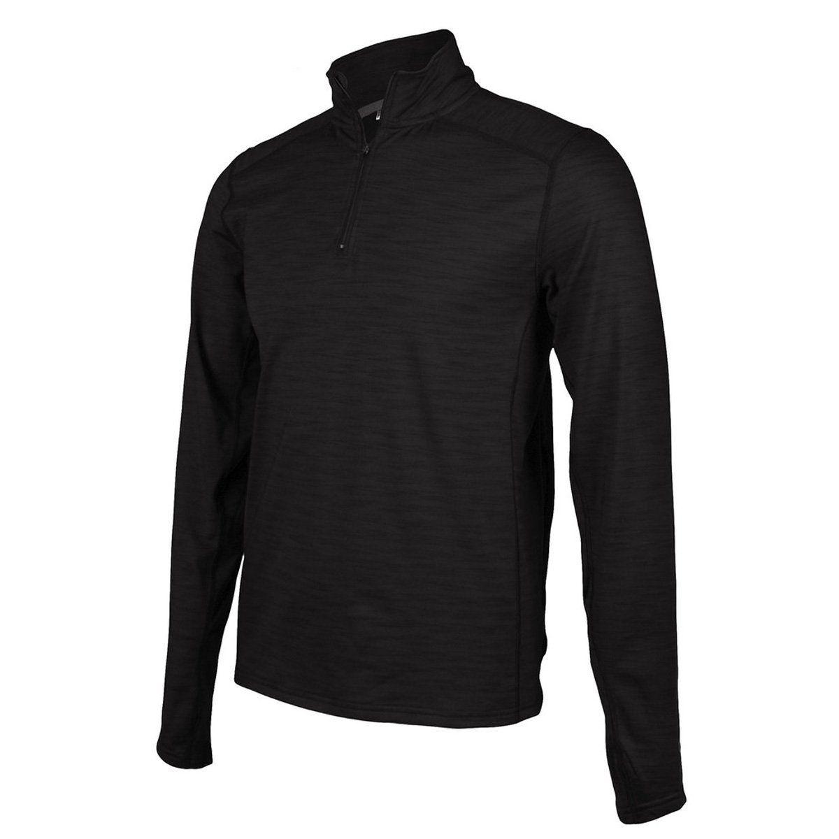 263965473 Club Ride Shirt Mens Razz L S Partial Zip Pullover XL Raven MJRZ501 ...