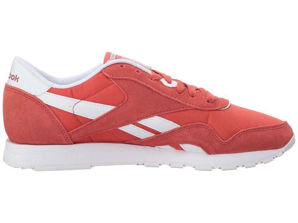 9ad83f53f5142 Reebok Lifestyle Classic Nylon Neutrals Women s Shoes Clay Tint White