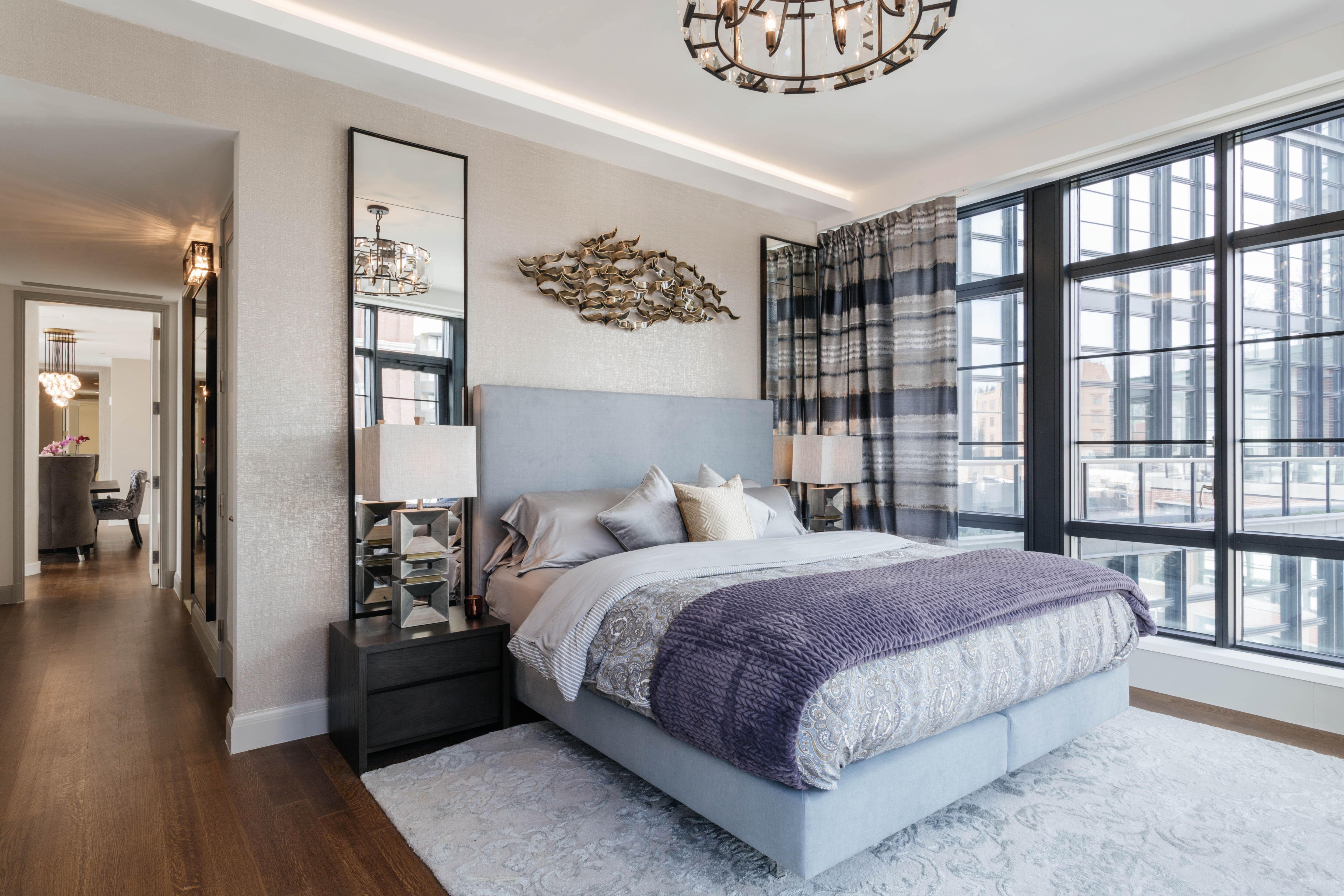 Master Bedroom Mixing Traditional And Elements By Art Home Garden