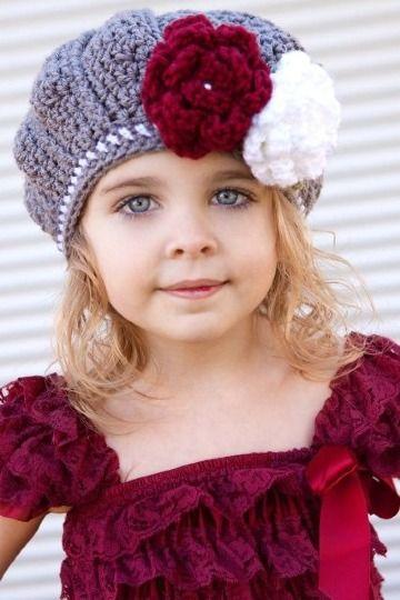 Socialista Chirrido instalaciones  3 trucos de como hacer un gorro de lana para niña | Ganchillo gorros,  Gorros de lana, Gorros crochet