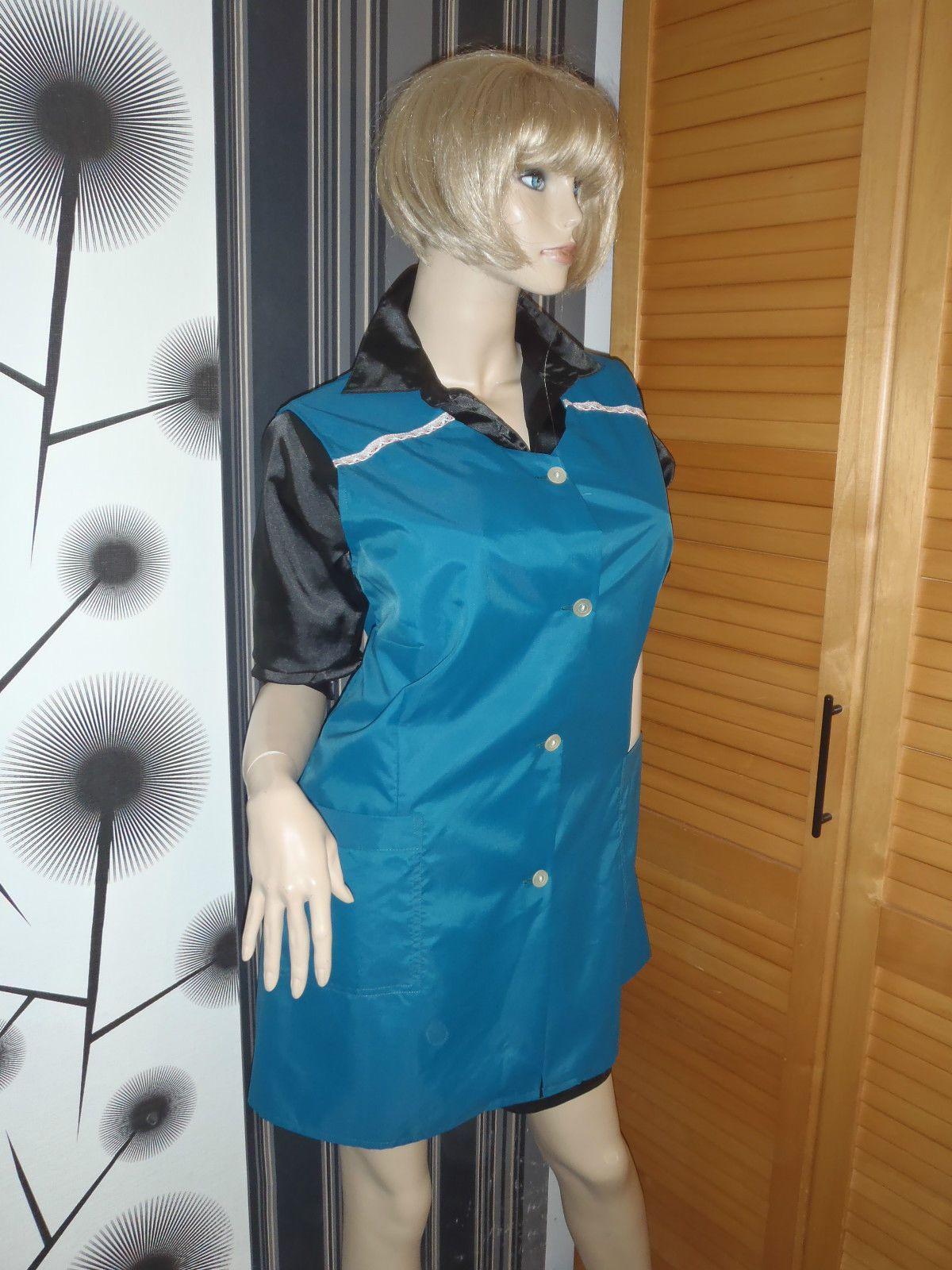 Nylon Kittel Schürze Vintage Glanz Blouse Sissy Boy Shiny Silk Apron Overall in Kleidung & Accessoires, Vintage-Mode, Vintage-Mode für Damen | eBay!