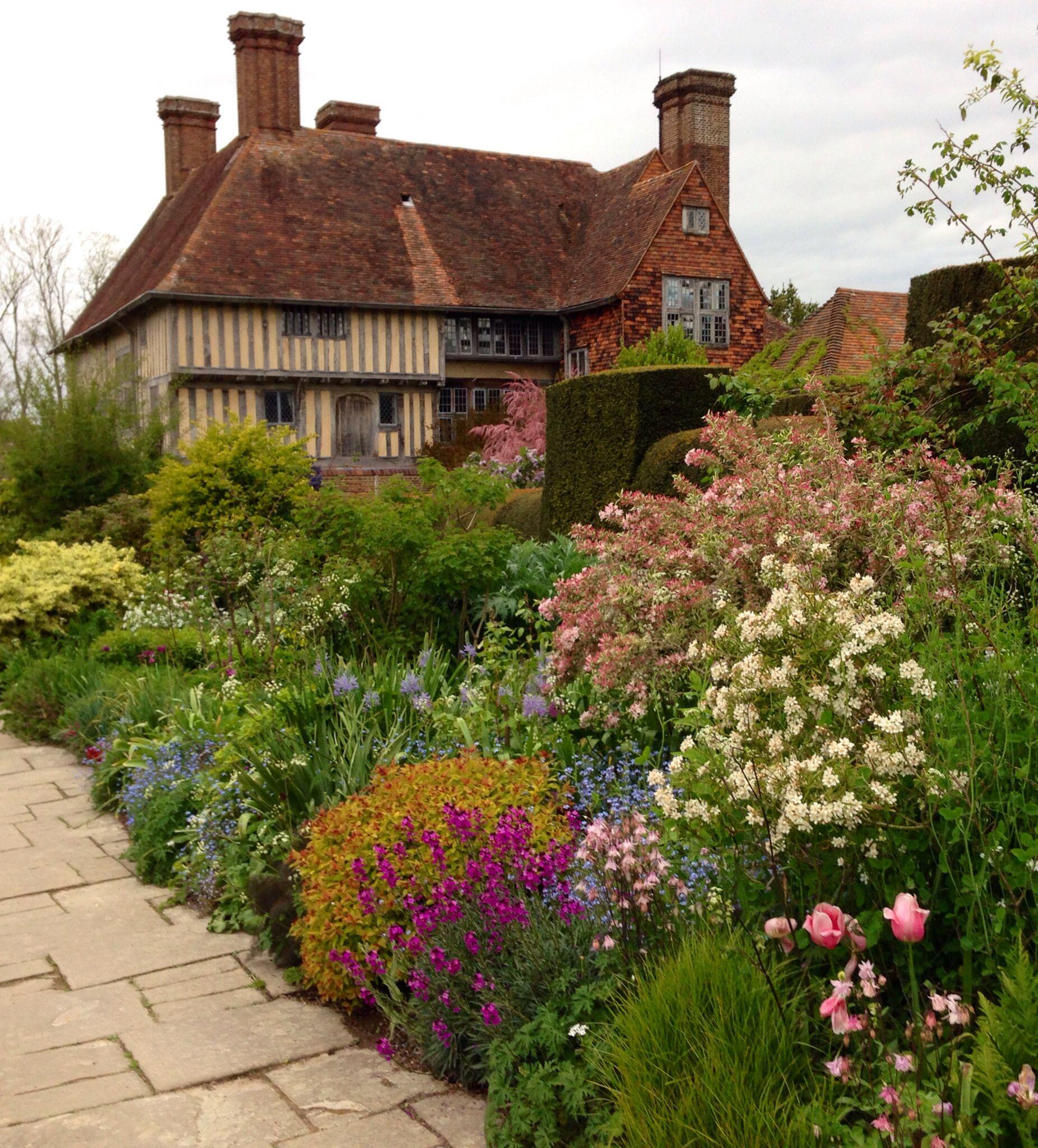 Great Dixter, Long Border, 2nd May 2014 | Gardens I Love | Pinterest ...
