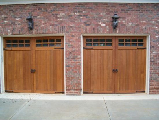 Attirant Western Red Cedar Carriage Doors With Glass Made By American Garage Door  Systems, Inc Charlotte