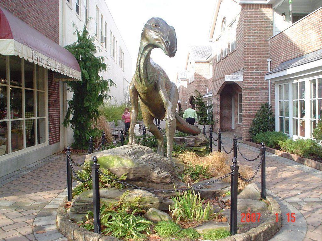 haddonfield nj dinosaur statue - Haddonfield Nj Halloween
