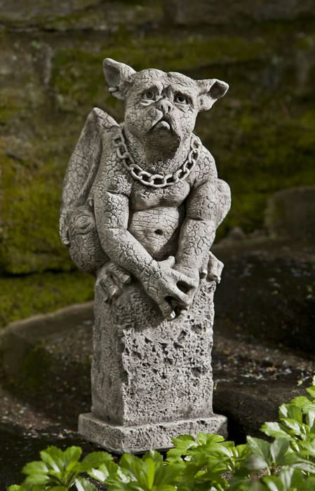 Oswald gargoyle garden statuary