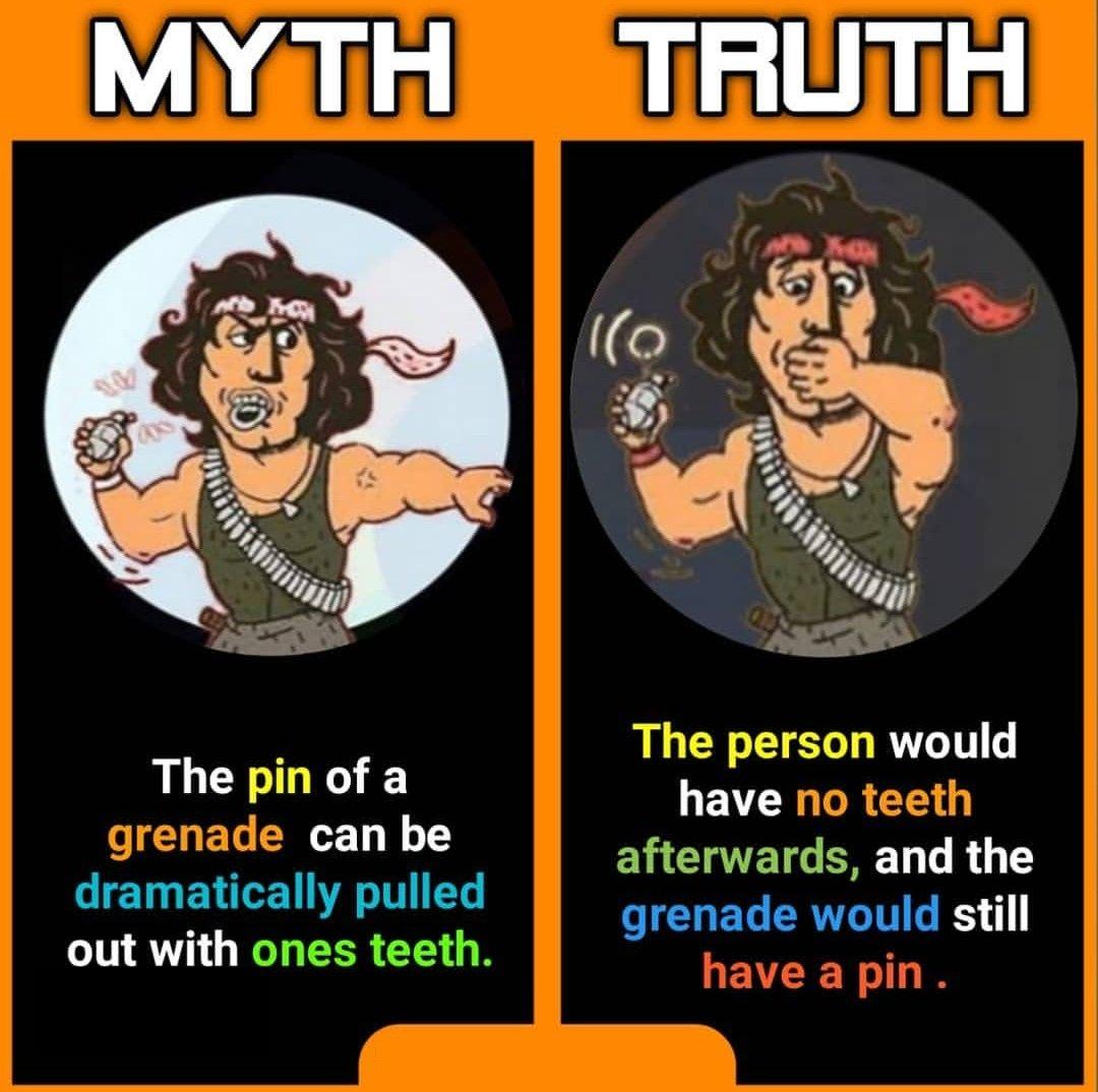 Pin on Myth vs fact