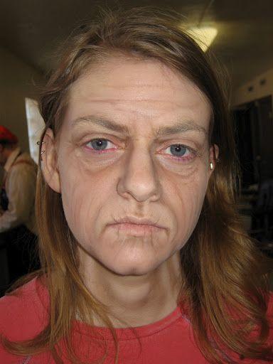 Old Age 2 Old Age Makeup Makeup Wrinkles Special Fx Makeup