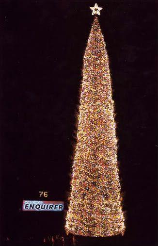 National Enquirer Bicentennial Christmas Tree - National Enquirer Bicentennial Christmas Tree Places I've Been