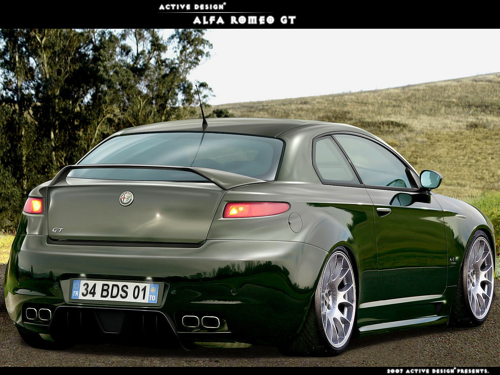 alfa romeo gtactive-design   veicoli   pinterest