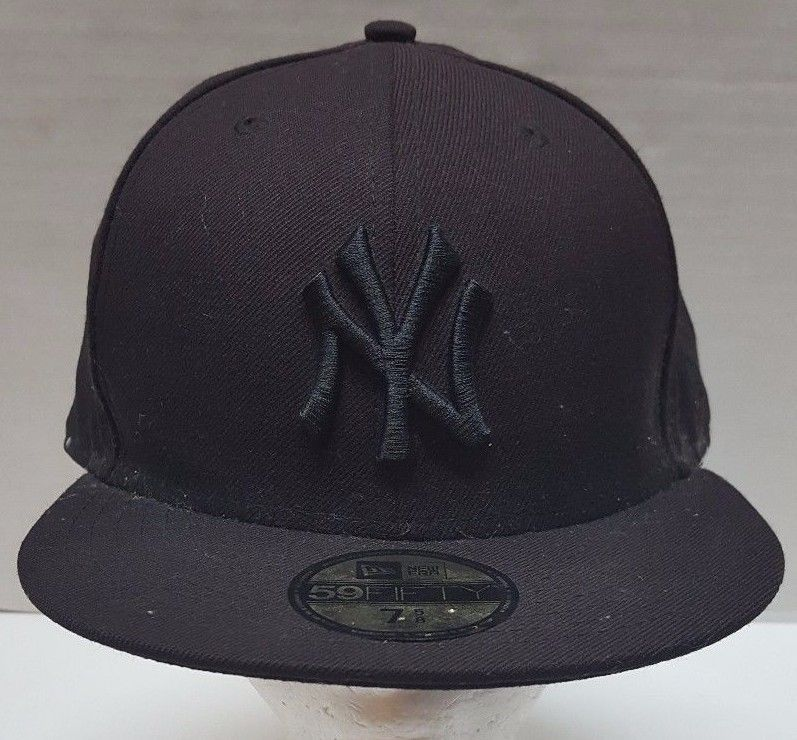 e99eb5a62a5 New Era Hat 59FIFTY Brown MLB New York Yankees Size 7 5 8 Fitted Wool   NewEra  Fitted