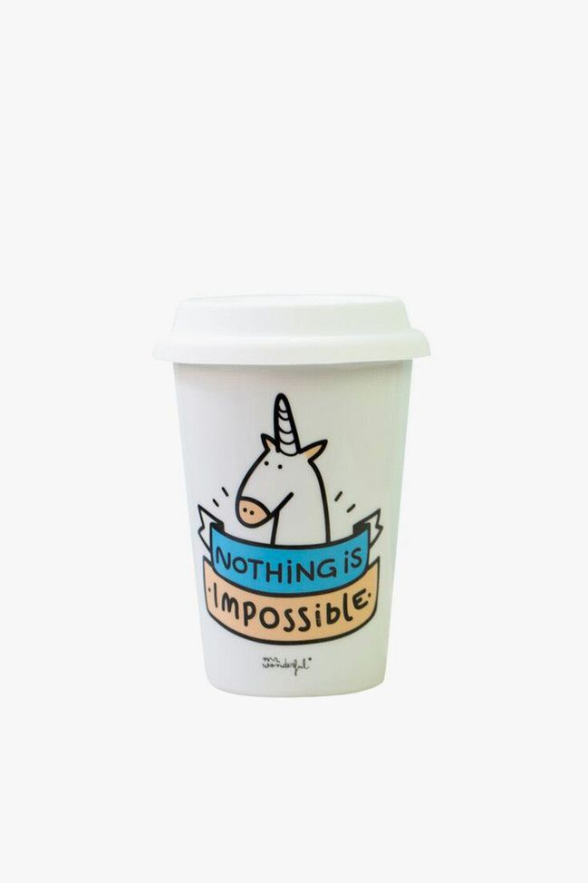 Mug/Thermos Nothing is impossible - Mr Wonderful
