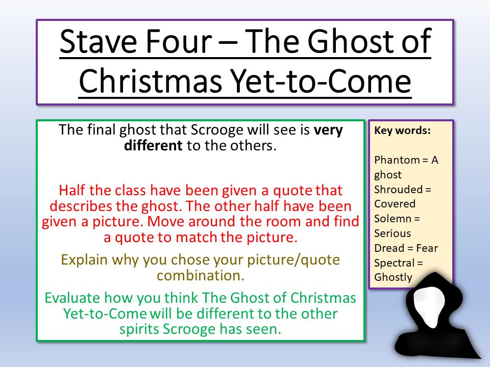 A Christmas Carol Stave 4   Christmas carol, Carole, Yet to come