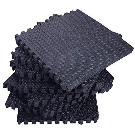 e9ba9a9f8f33 Best Direct Deals 18 Tiles 72 Sq Ft EVA Foam Floor Mat Interlocking Flooring  Exercise Gym DIY