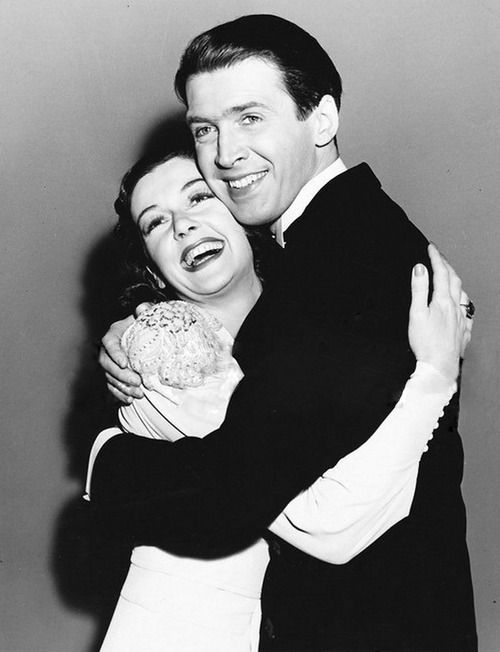 James Stewart and Rosalind Russell