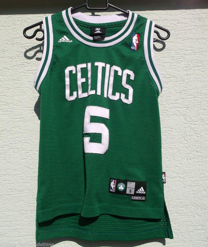 best service ace72 73087 NBA Boston CELTICS Jersey Garnett 5 Adidas Kids Small 8 ...