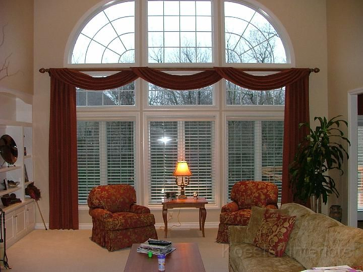 Fairfax Virginia Window Treatments Curtains For Big WindowsSunroom WindowsLiving Room