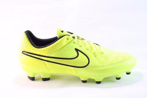 fe809a05 Tachones Nike Tiempo Genio Fg Piel V. (631282-770) | Bota de futbol ...