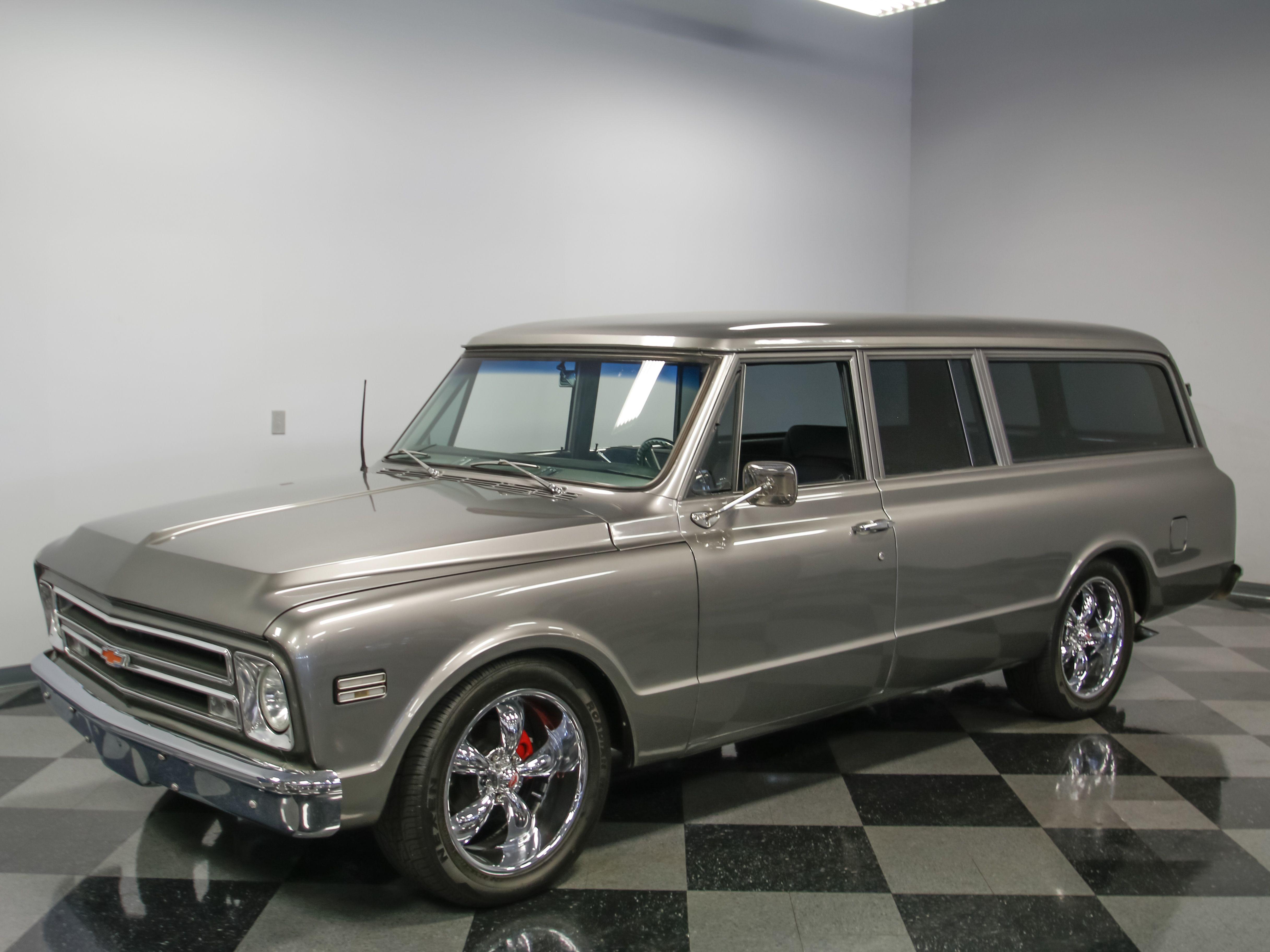 4346-CHA | 1967 Chevrolet Suburban | Streetside Classics | Panels ...