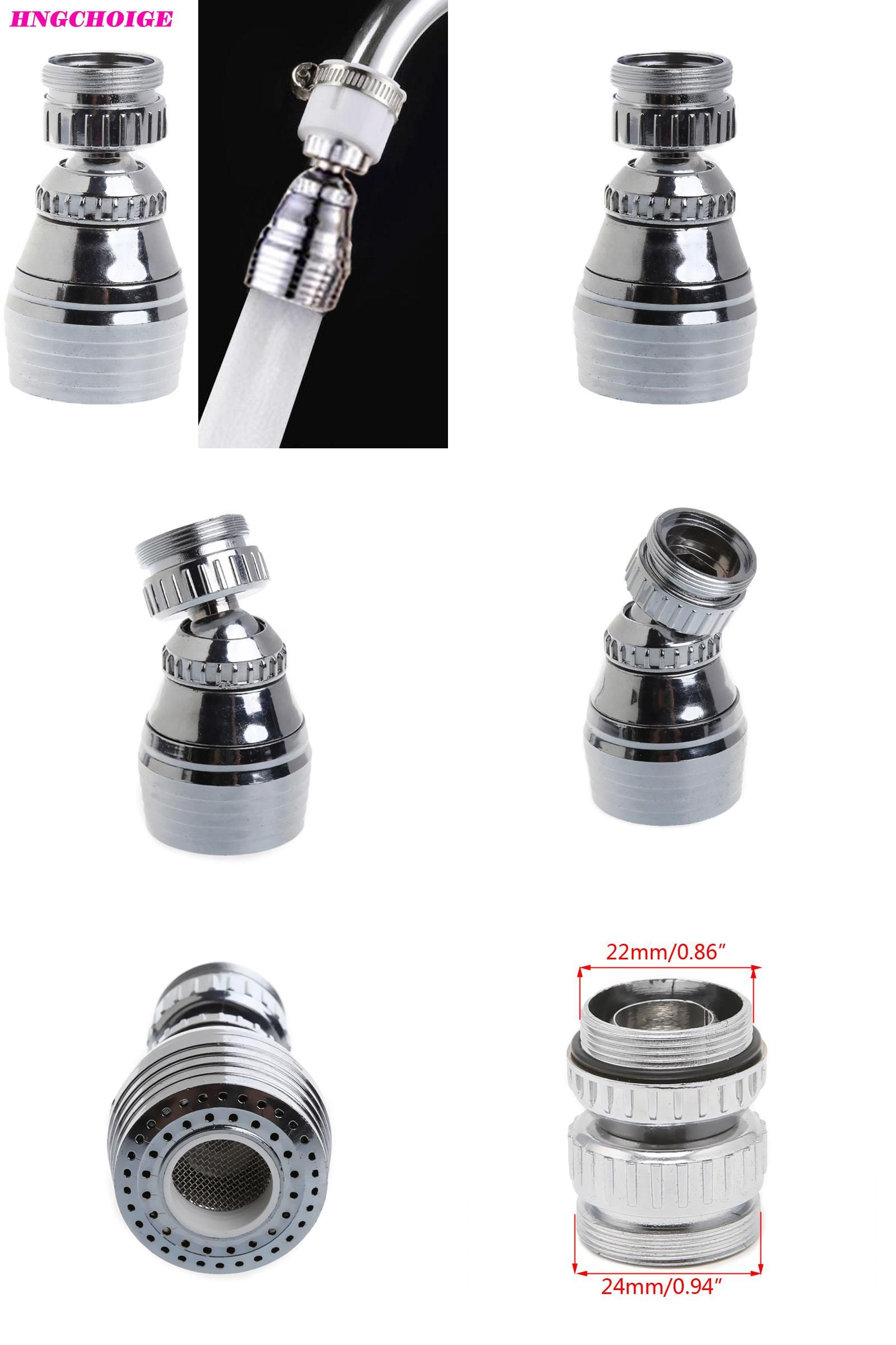 Visit to Buy] HNGCHOIGE Shower Swivel Head Adapter Water Saving Tap ...