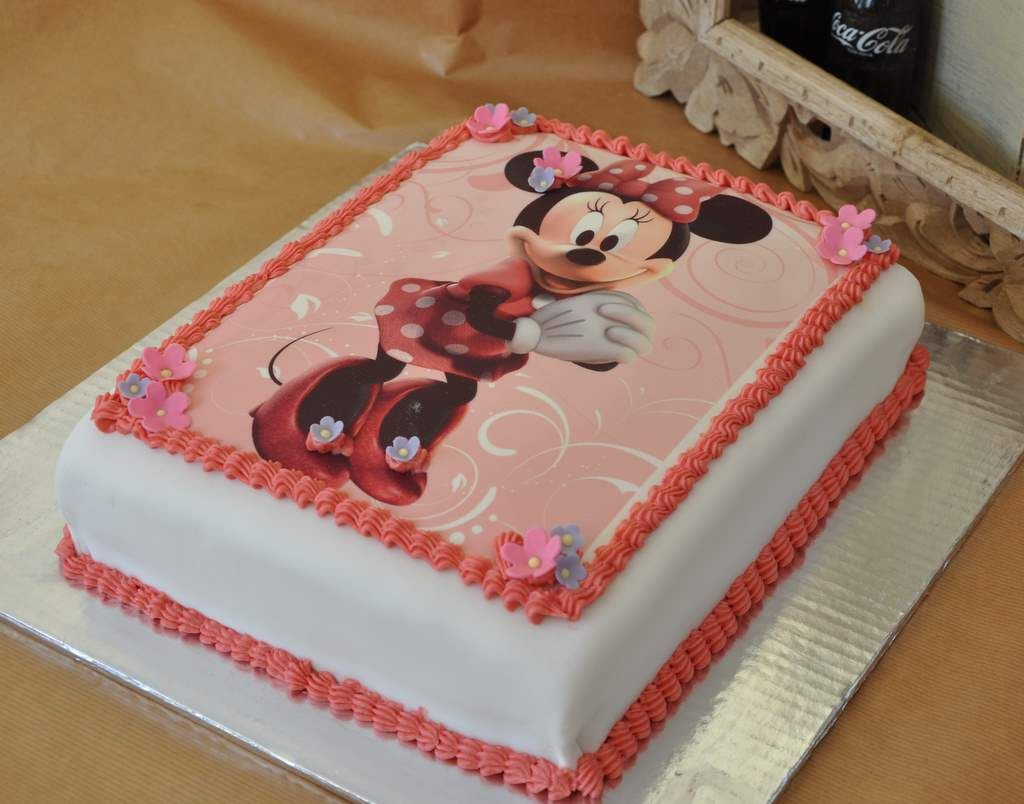 Minnie Mouse Cakes Thefoodclass Minnie Mouse Birthday Cake Cake